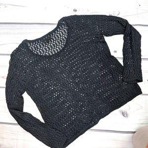 🌿 3/$15 i jeans by buffalo | Crocheted Sweater